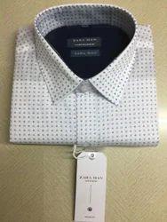 Cotton Henley Neck Shirt