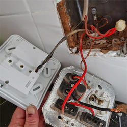 Power and Light Point Wiring Installation