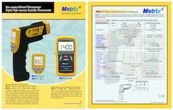 Metrix Digital Thermometer And Humidity Meter