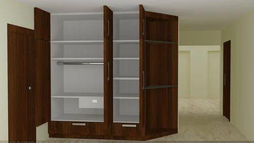 Furniture Design Almirah residential furniture - wooden wall almirah manufacturer from gurgaon