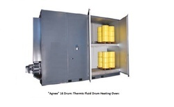 Gas Fired Drum Heating Oven