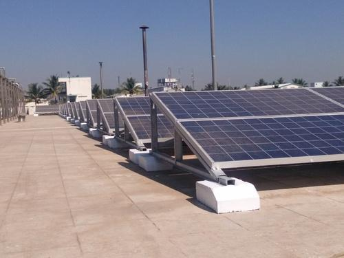 Solar Panel Mounting Structures Heliofix Landscape