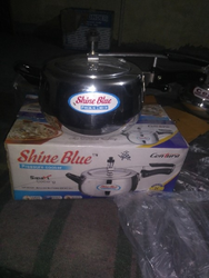 Polished Silver Shine Blue Cookers, Model Name/Number: Countura