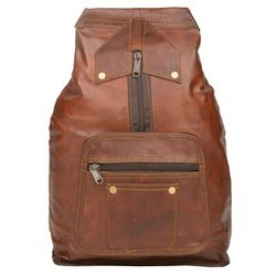 Genuine Leather Traveling Backpack BP112