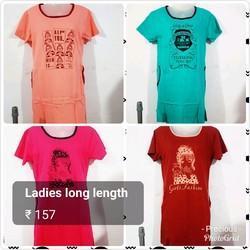 Ladies Long Length Top