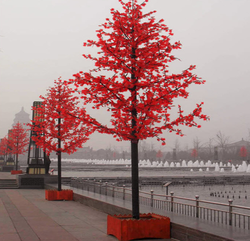 Red LED Tree