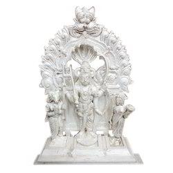 Silver Veerabhadra Statue