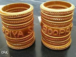 Wholesaler of Bridal Bangles & Neck Set by Sahana's Silk