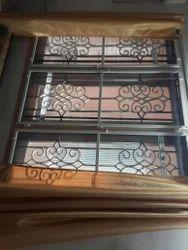 Aluminium Netlon Window