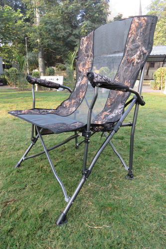 Camping Chair with Bag - Camouflage