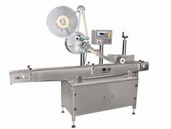 Automatic Horizontal Top Sticker Labeling Machine