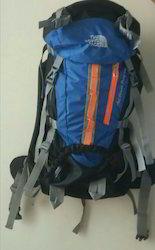 Blue Polyester Trekking Bag, For Tracking