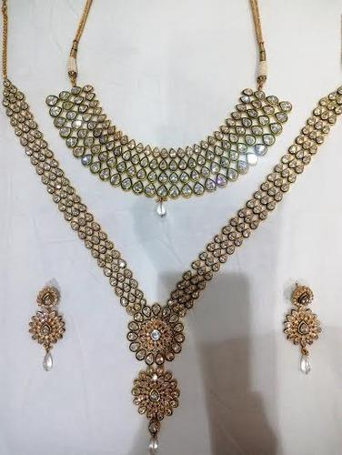 b9996fb13 Traditional Artificial Necklace Set at Rs 12000  piece