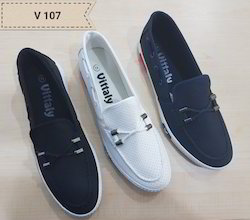 Canvas Daily Wear Imported Shoes, Size: 40-45
