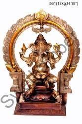 Brass Ganesh Statue