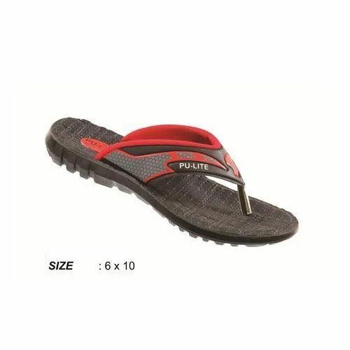 6c78ba4acf654 PU LITE Ladies Plain Slippers