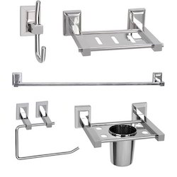5 Pieces Bathroom Accessories Set (Oscar Series)