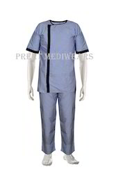 Hospital Patient Gown with Lower