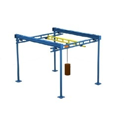 Electric Workstation Crane, Capacity: 5-10 Ton, Max Height: 0-20 feet