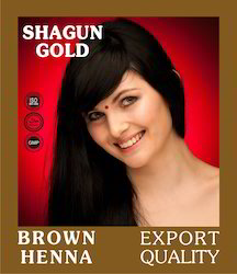 Brown Henna Based Hair Color