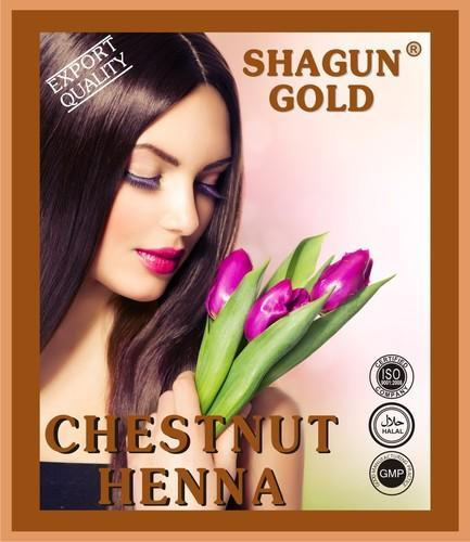 Herbal Chestnut Henna Hair Color For Personal And Parlour Rs 400