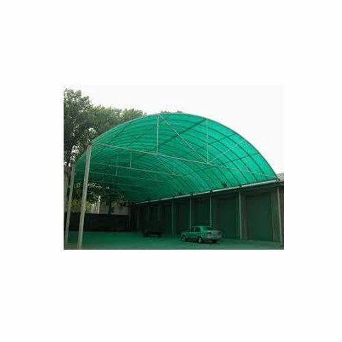 Tunnel Fiber Sheet Sheds Rs 150 Square Feet Swarn Bharat Awaning Id 3585531897