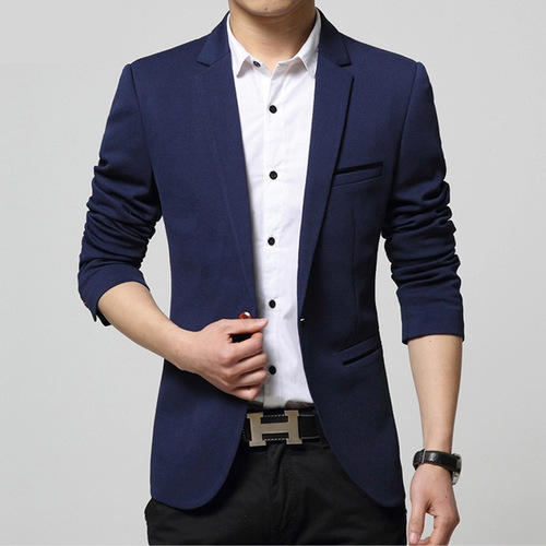 men blue formal blazer rs 2500 piece midas creation id 4134406691