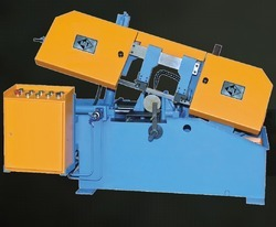 swing type hydraulic bandsaw machine