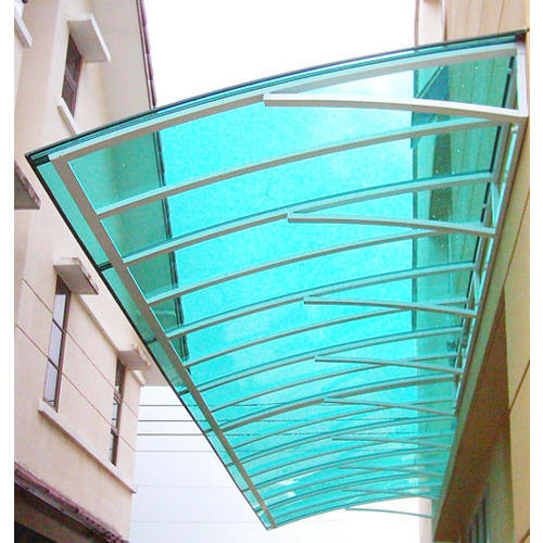 Polycarbonate Sunshade Roofing Sheets At Rs 250 Square