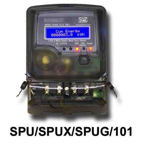 Utility Meters - Single Phase AC Static Utility Meter ...