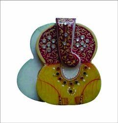 Kundan Work Marble Roli Sindoor Chopra