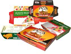 Printed Foldable Pizza Box