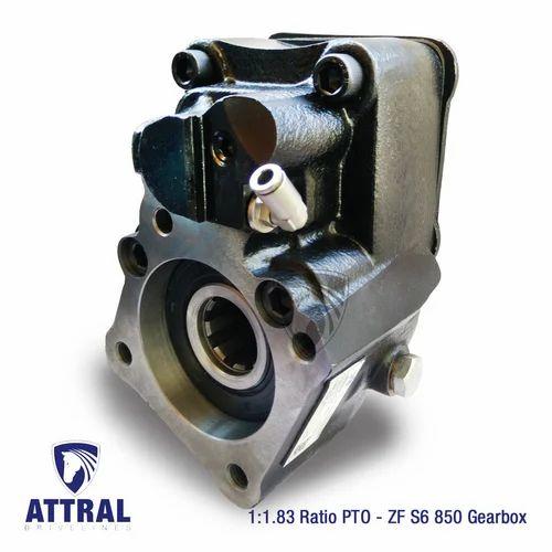 ZF S6 850 PTO Gearbox, Gearbox, Axle, Sprocket & Gear Parts | Attral