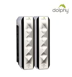 Dolphy ABS White Plastic Soap Dispenser