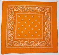 Printed Head Wrap Cotton Bandana