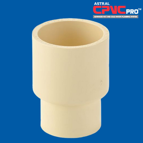 Astral CPVC PRO Transition Coupling, Size: 3/4 inch, for Pneumatic Connections