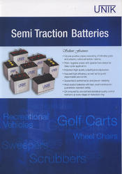UNIK Golf Cart Battery