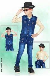 Jeans Jacket Suit