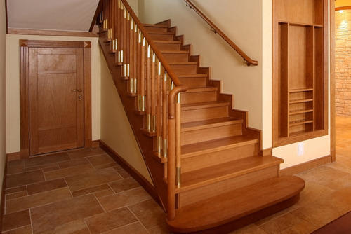 modern wooden staircase - Wooden Stairs