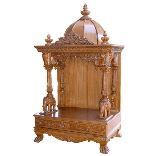 Wooden Temple At Rs 5000 /piece