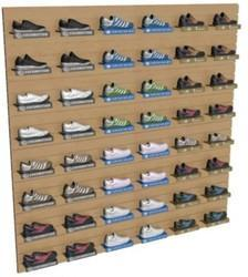 Footwear Display on Wall Stand