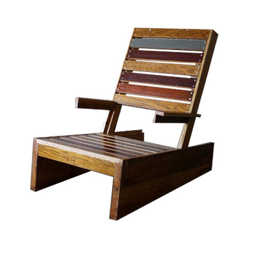 Small Reclaimed Wood Chair