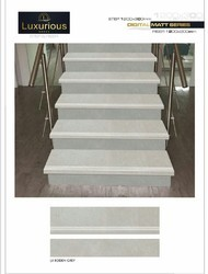 Step Riser Vitrified Tiles