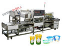 Automatic Cup Rinsing,Filling,Sealing & Capping Machine
