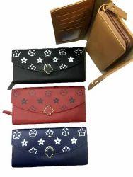 Ladies Wallet 3 Fold Zip Type