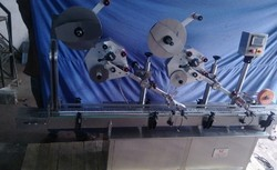 Top Side Double Labeling Machine