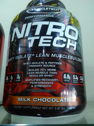 Nitro Tech Muscle Builder