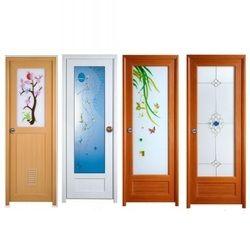 Bathroom Doors Kolkata pvc glass door at rs 280 /square feet | decorative pvc glass doors