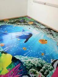 3D Flooring, 3D Epoxy Flooring in Chennai