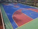 Matte Basketball Synthetic Flooring Service, 1.5 Mm To 4 Mm